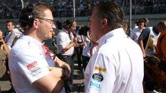 F1 2019: Andreas Seidl e Zak Brown, team principal e CEO McLaren