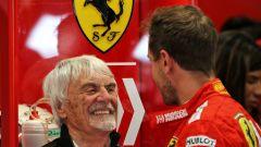L'aiuto di Ecclestone al Vettel abbandonato dalla Ferrari