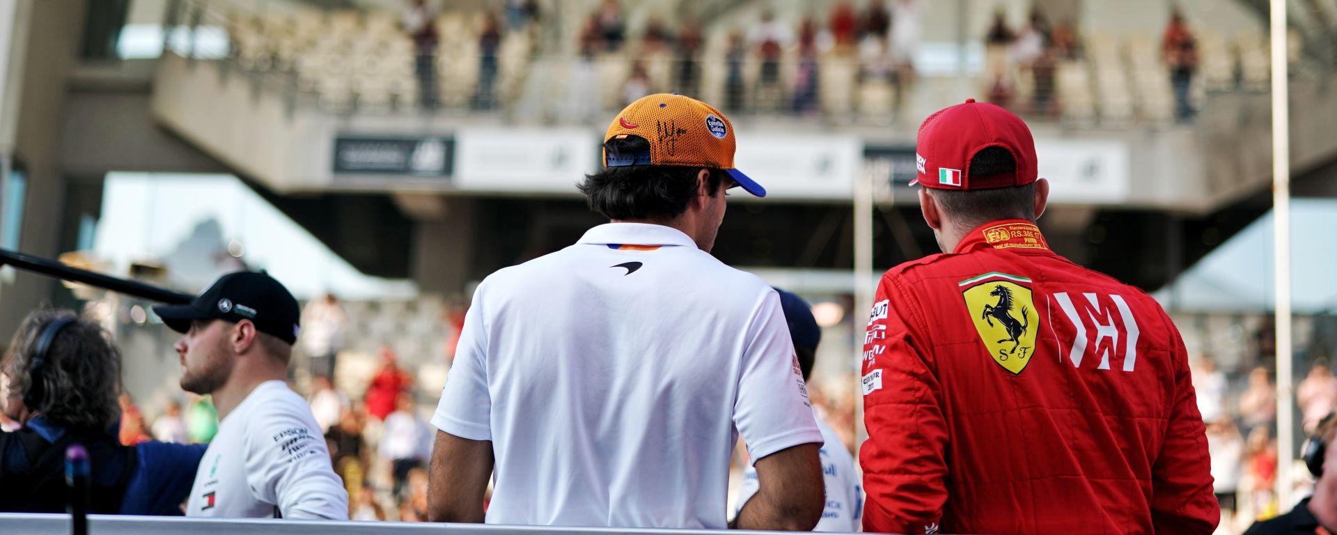 F1 2019: Carlos Sainz (McLaren) e Charles Leclerc (Ferrari)