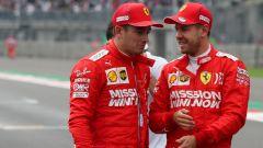 Ferrari, Vettel e Leclerc si sono chiariti