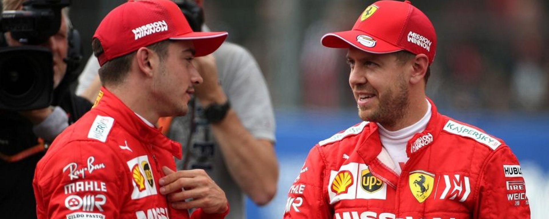 F1 2019: Charles Leclerc e Sebastian Vettel (Ferrari)
