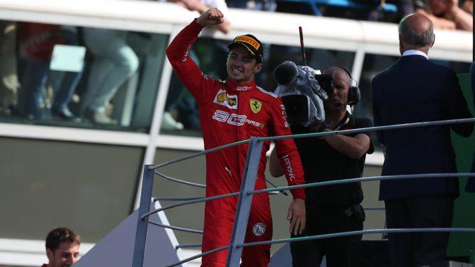 F1 2019, Charles Leclerc (Ferrari)
