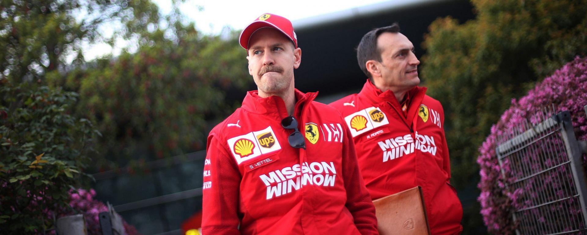 """Vettel: """"Hamilton è l'unico che non ha la memoria corta..."""""""