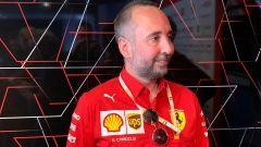 F1 2019, Enrico Cardile, aerodinamico della Ferrari
