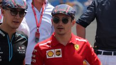 Russell sulle orme di Leclerc