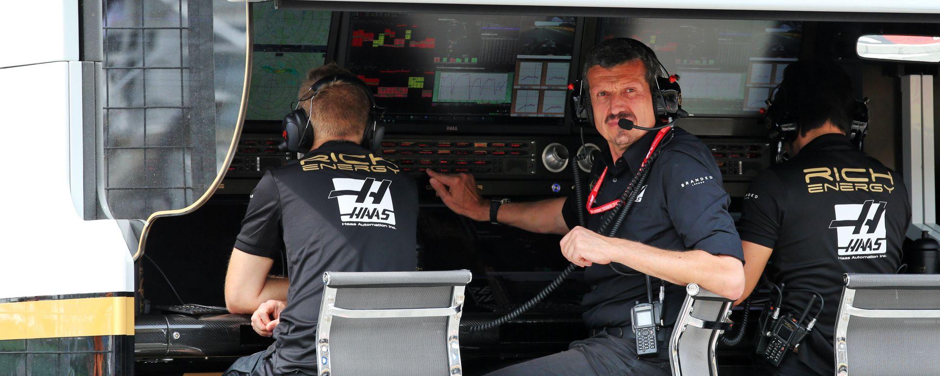 F1 2019, Gunther Steiner al muretto della Haas