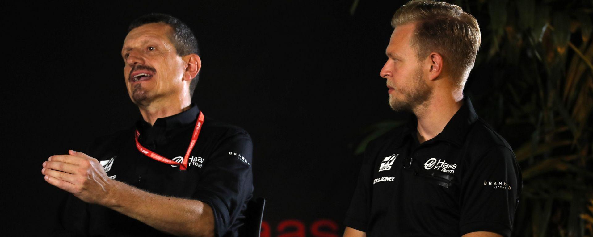 F1 2019: Gunther Steiner e Kevin Magnussen (Haas)
