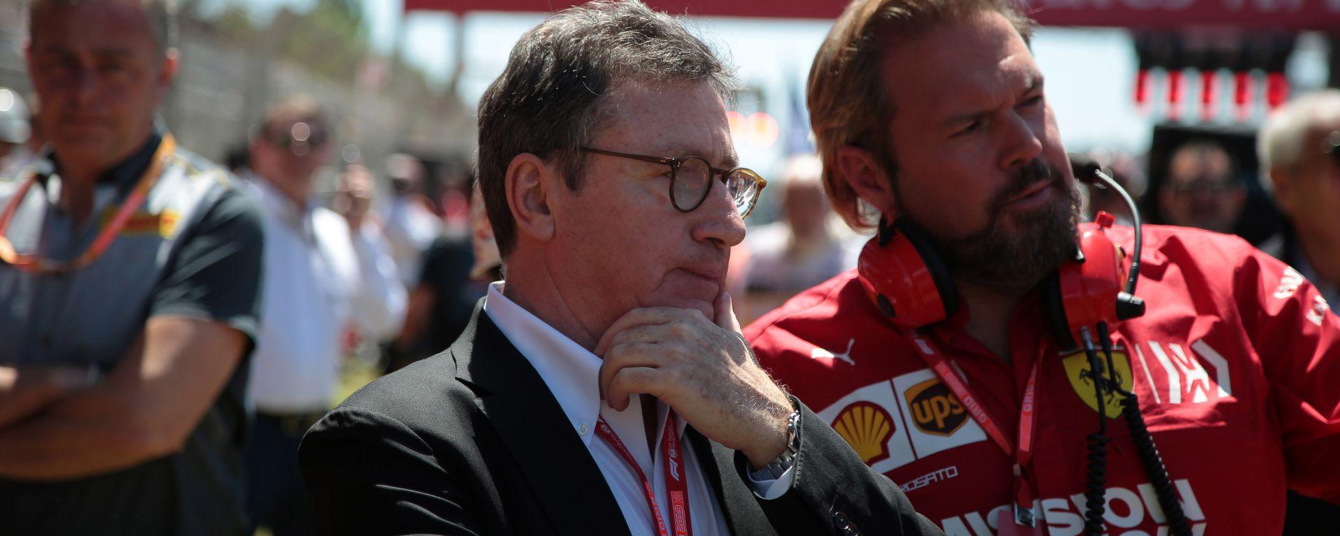 F1 2019: il CEO della Ferrari, Louis Camilleri