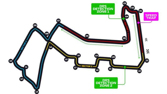 F1 2019, il Marina Bay Street Circuit dove si corre il Gp Singapore