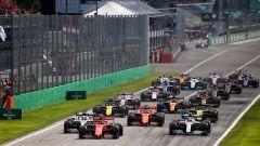 F1 2019: il via del GP Italia a Monza