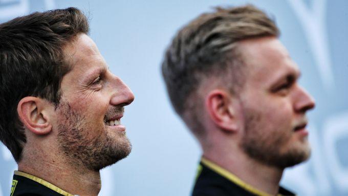 F1 2019, Kevin Magnussen e Romain Grosjean (Haas)