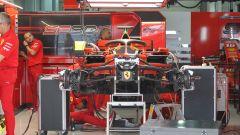 Ferrari, tre telai per i test invernali