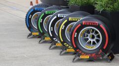 F1 2019, la gamma di pneumatici Pirelli