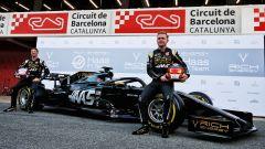 F1 2019, la presentazione del Team Haas con Kevin Magnussen e Romain Grosjean