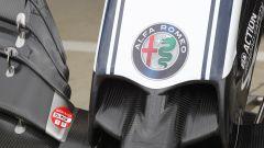 F1 2019, l'ala anteriore dell'Alfa Romeo Racing C38