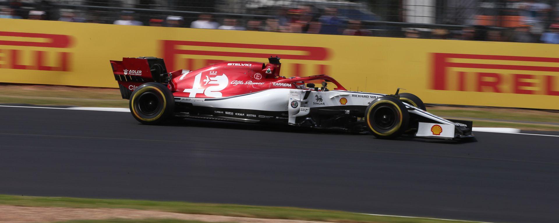 F1 2019, l'Alfa Romeo si trova attualmente in nona posizione in classifica costruttori (a pari punti con Haas)