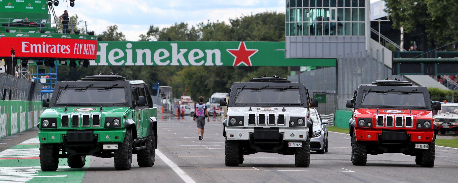 F1 2019: l'Autodromo Nazionale di Monza nel weekend del GP Italia