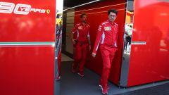 F1 2019, Mattia Binotto esce dal box Ferrari