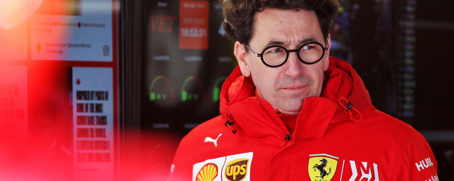 F1 2019, Mattia Binotto (Ferrari)
