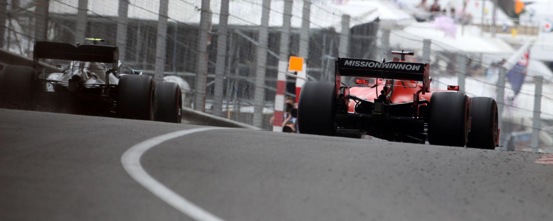 F1 2019, Mercedes e Ferrari appaiate a Monte Carlo