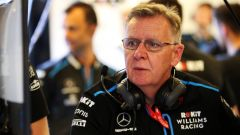 F1 2019, Mike O'Driscoll al box Williams