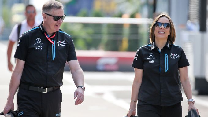 F1 2019, Mike O'Driscoll e Claire Williams