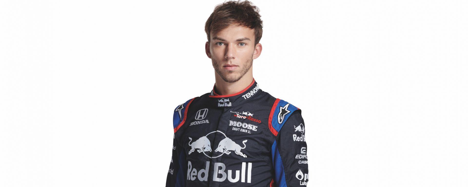 F1 2019, Pierre Gasly (Toro Rosso)