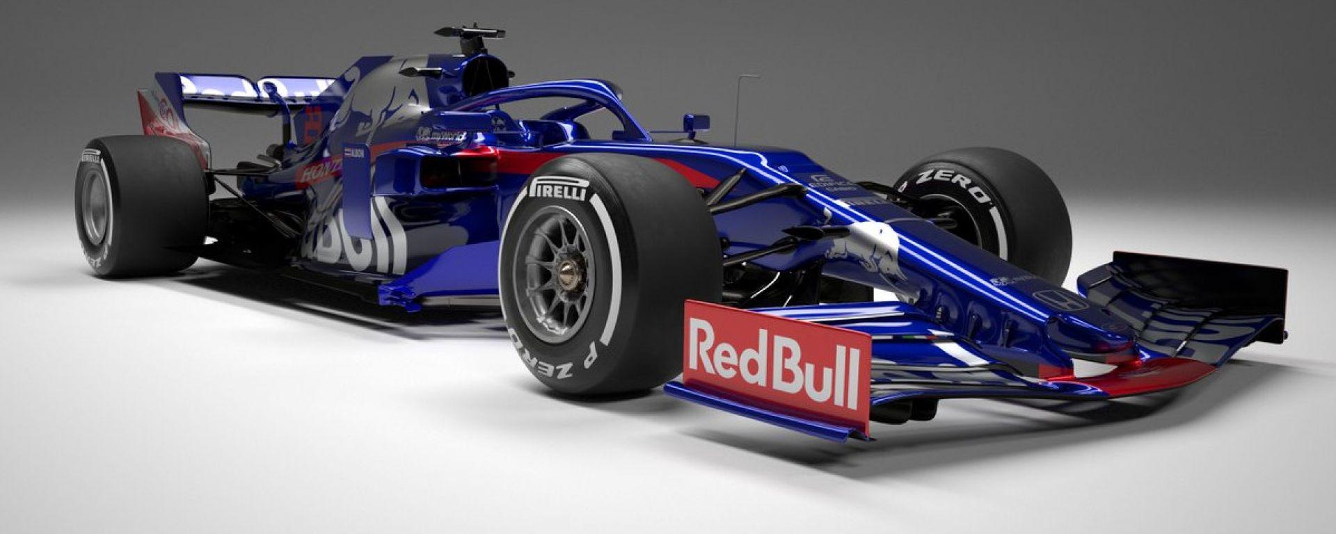 Presentata la nuova Toro Rosso STR14. Video, gallery e dichiarazioni