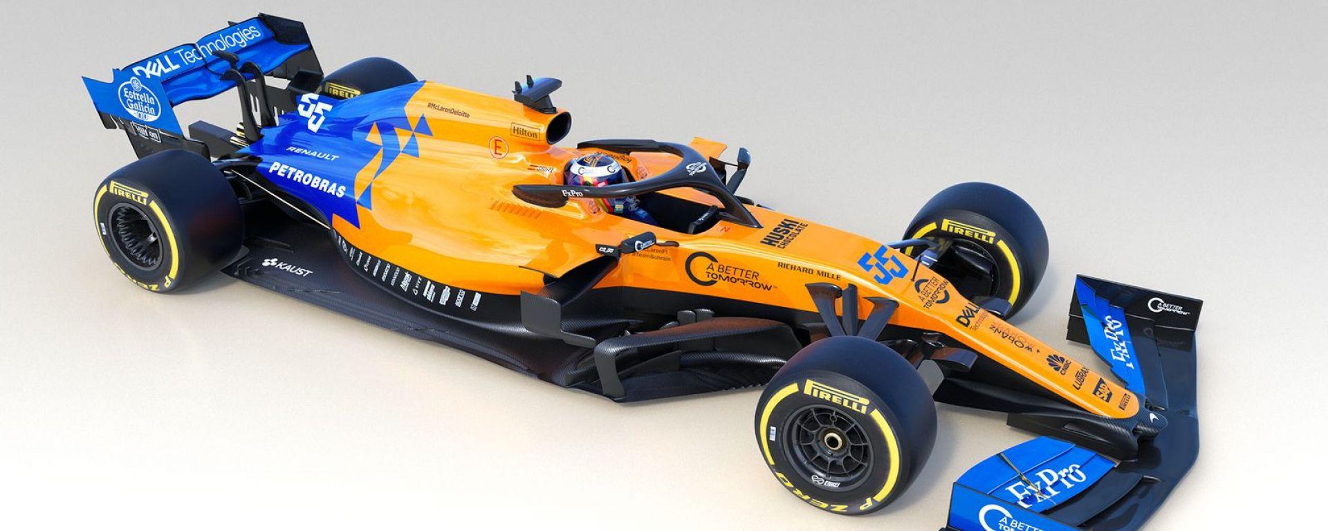 Presentata LIVE la McLaren MCL34: video, gallery e dichiarazioni