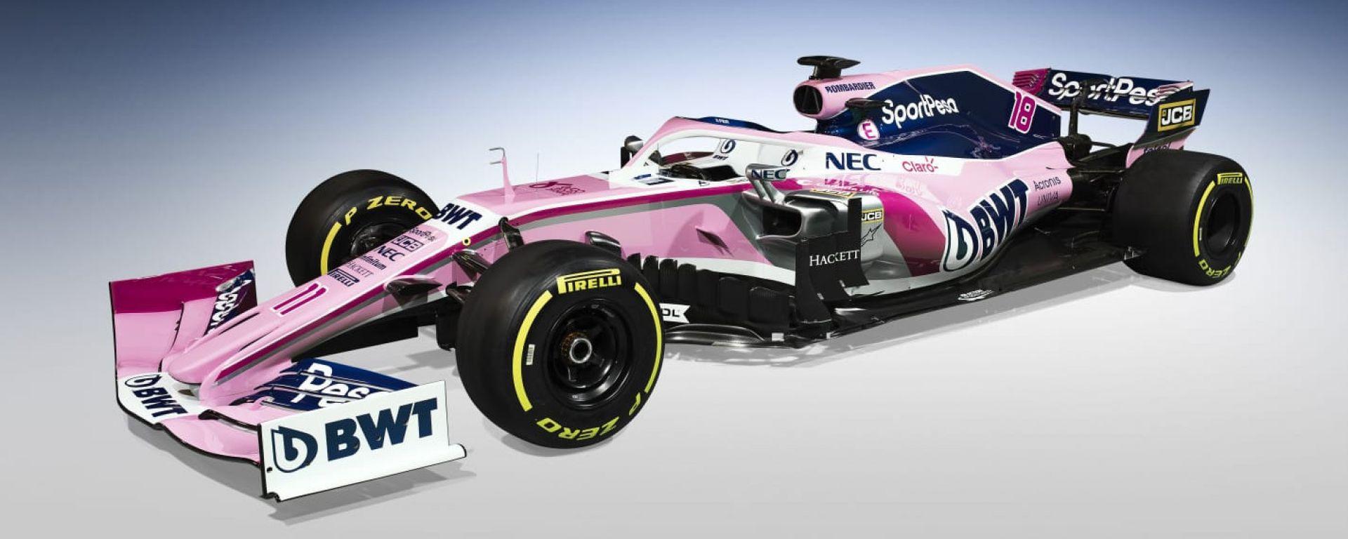 Presentata LIVE la nuova Racing Point. Video, gallery e dichiarazioni