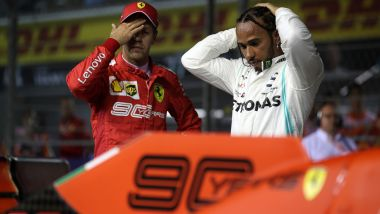 F1 2019: Sebastian Vettel (Ferrari) e Lewis Hamilton (Mercedes)