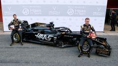 Presentata la nuova Haas F1. Video, gallery e dichiarazioni - Immagine: 1