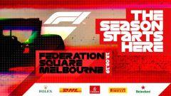 F1 2019, si parte a Melbourne con un grande show in piazza