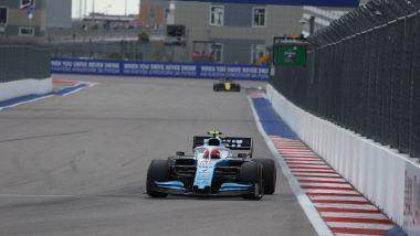 F1 2019, Sochi: Robert Kubica impegnato nelle qualifiche del GP Russia