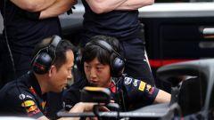 F1 2019, tecnici Honda al lavoro sulla Red Bull