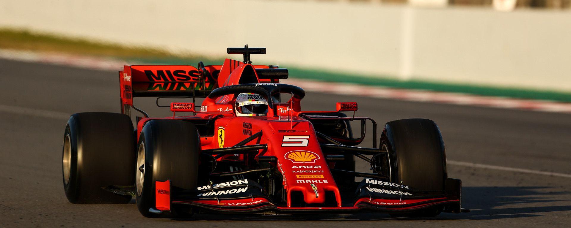 Test F1 Barcellona, day-4. I tempi LIVE e la lineup completa dei piloti
