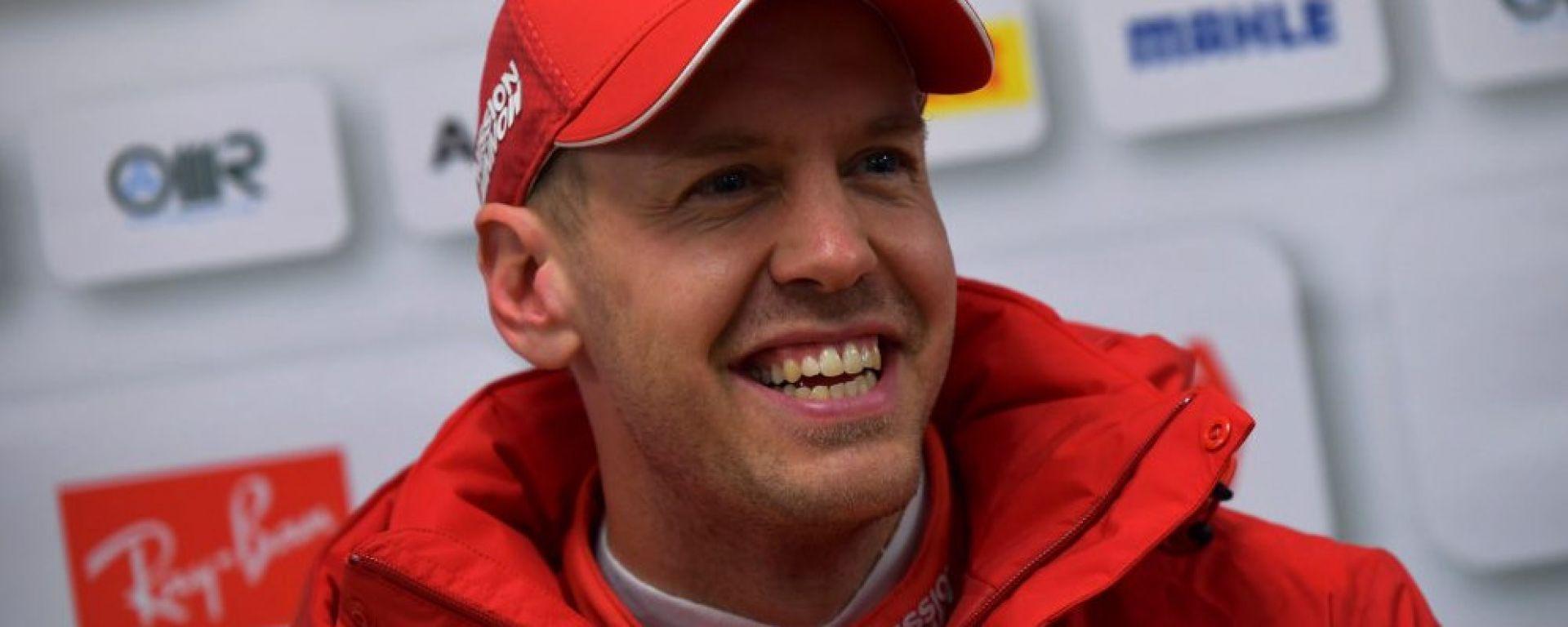 """Test F1 Barcellona, Vettel: """"Non potevo sperare in un giorno migliore"""""""