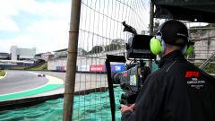 F1 2019, un cameraman di Tata Communications