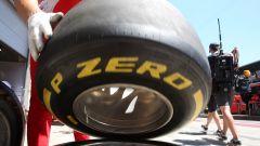 F1 2019, una gomma Pirelli PZero Yellow Medium