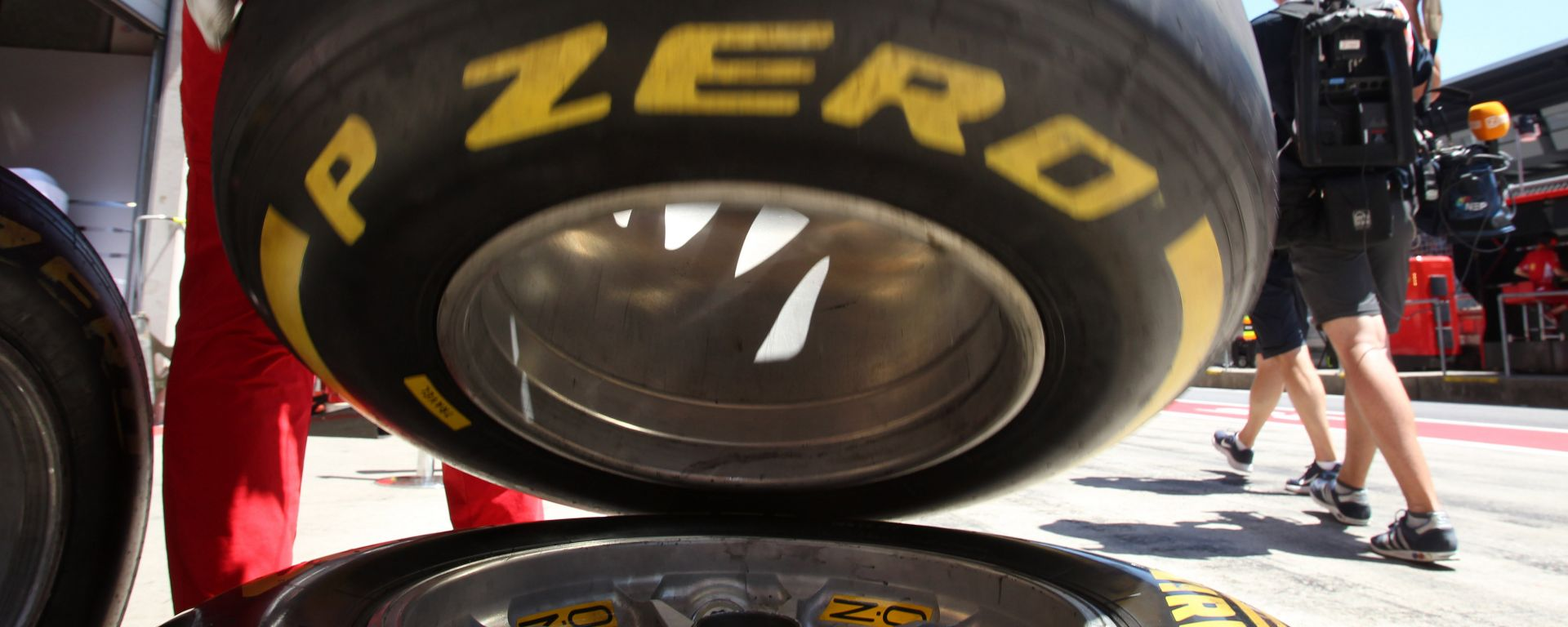 F1 2019, una gomma Pirelli PZero Yellow Medium