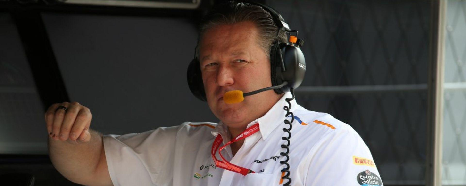 F1 2019: Zak Brown, CEO McLaren