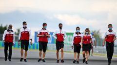 "Quarantena ""brutale"" per il team Alfa Romeo Racing"