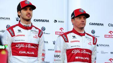 F1 2020: Antonio Giovinazzi e Kimi Raikkonen (Alfa Romeo)
