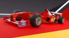 F1 2020 Codemasters, il lancio della F1-2000 di Michael Shumacher