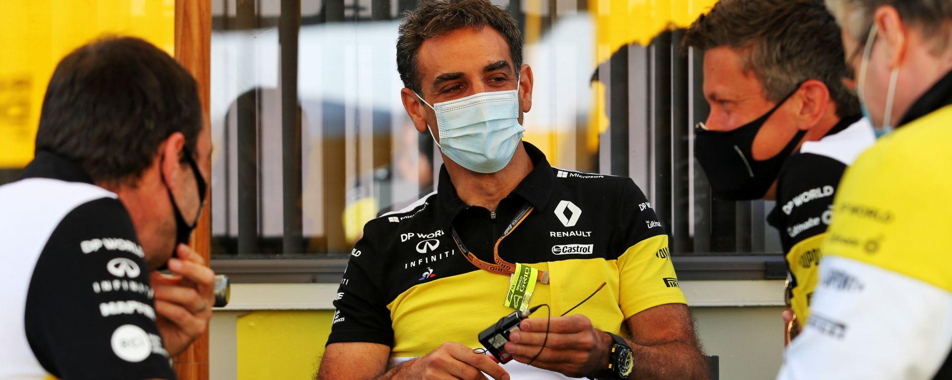 F1 2020: Cyril Abiteboul e Marcin Budkowski (Renault)