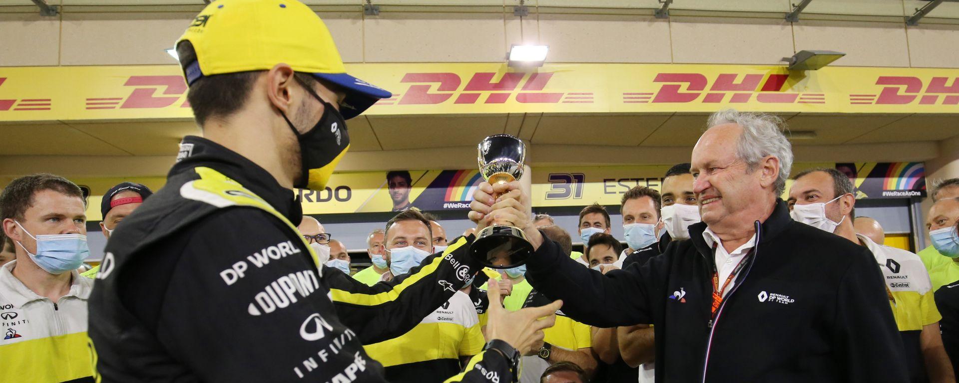 F1 2020: Daniel Ricciardo e Jerome Stoll (Renault)
