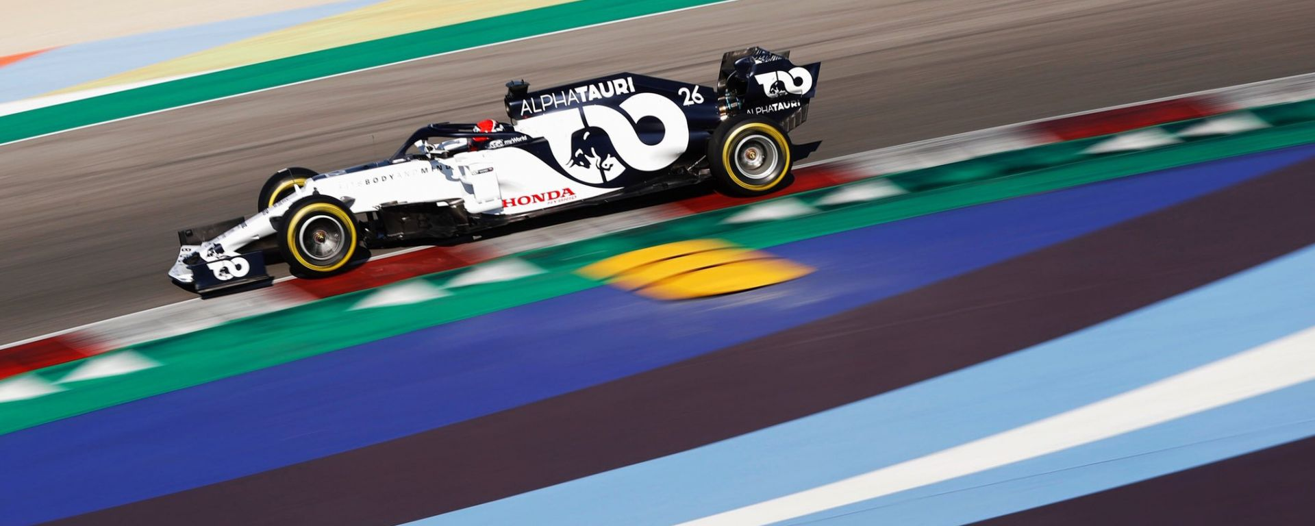 F1 2020: Daniil Kvyat (Alpha Tauri) impegnato a Misano