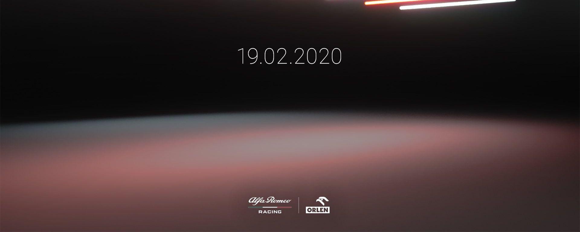 F1 2020: data presentazione nuova Alfa Romeo