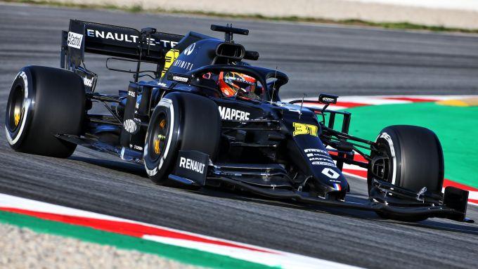 F1 2020: Esteban Ocon al volante della Renault RS20