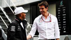Hamilton-Mercedes: le trattative per il rinnovo rallentano - Immagine: 2